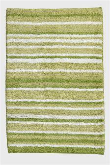 Tufted Stripe Bath Mat