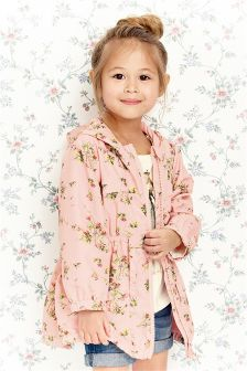 Pink Floral Cagoule (3mths-6yrs)