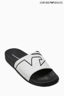 Emporio Armani White/Black Zadar Slider
