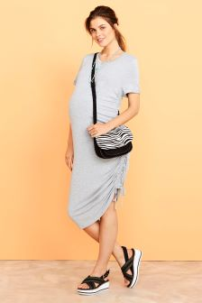 Maternity Ruched Dress