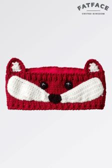 Fat Face Raspberry Fox Headband
