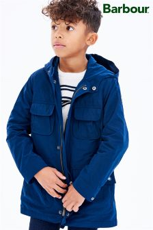 Barbour® International Navy Pack Fishtail Parka