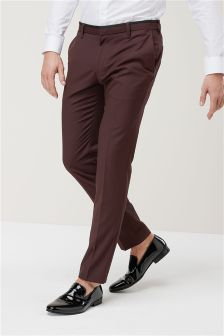 Skinny Fit Smart Trousers