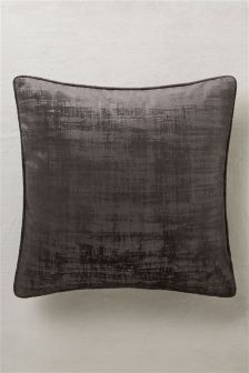 Distress Soft Velour Cushion