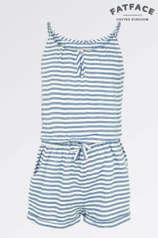 Fat Face True Navy Stripe Playsuit