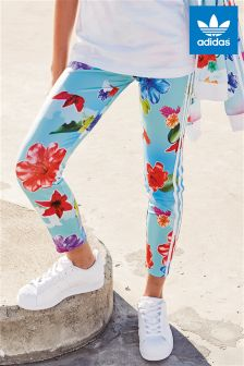 adidas Originals Blue Floral Legging
