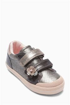 Embellished Low Top (Younger Girls)
