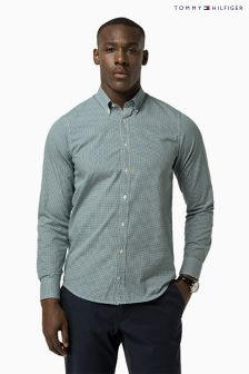 Tommy Hilfiger Green Ryan Geo Print Shirt
