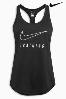 Nike Black Dry Training Tank