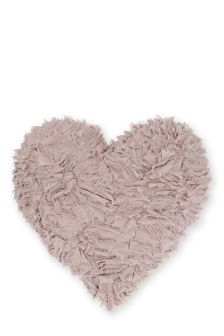 Heart Ruffle Cushion