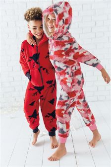 Monster Fleece All-In-One (3-16yrs)