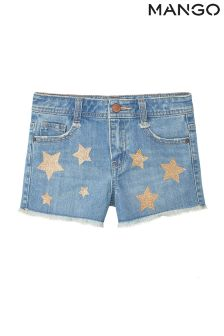 Mango Kids Denim Short