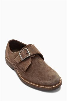 Suede Monk Shoes (Older Boys)