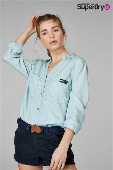 Superdry Light Blue Shirt