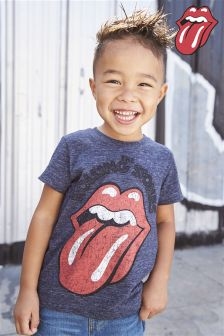 Short Sleeve Rolling Stones T-Shirt (3mths-6yrs)