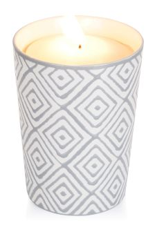 Dark Amber Fragranced Ceramic Candle