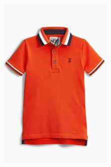 Tipped Collar Polo (3-16yrs)