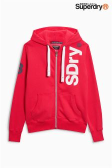 Superdry Side Logo Zip Hoody