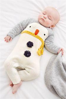 Snowman Romper (0mths-2yrs)