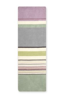 Teal And Lilac Stripe Runner