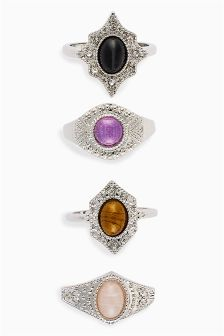 Jewel Stone Ring Pack