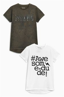 Awesome Dude T-Shirts Two Pack (3-16yrs)