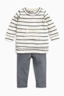 Stripe Tunic And Leggings Set (0mths-2yrs)