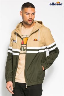 Ellesse Heritage Khaki Cotton Canvas Jacket