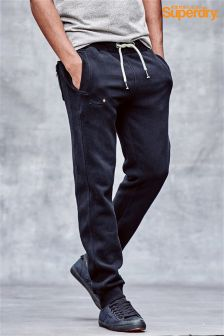Superdry Navy Slim Leg Jogger