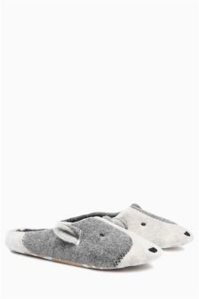 Patch Dog Mule Slippers