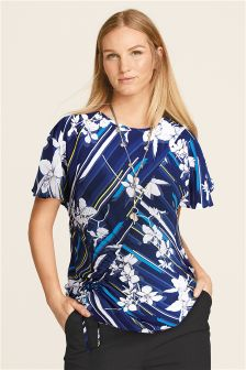 Maternity Ruched Front Top