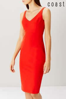 Coast Orange Shift Dress