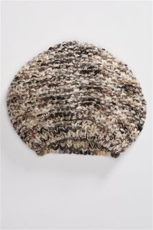 Mix Knitted Beret