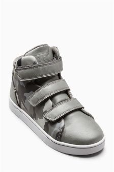 Triple Strap High Tops (Older Boys)