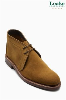 Loake Tan Suede Lawrence Chukka Boot