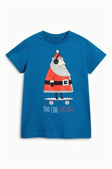 Too Cool For Yule Christmas T-Shirt (3-16yrs)