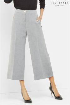 Ted Baker Grey Wide Leg Culotte