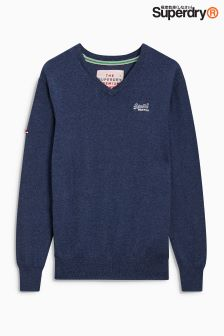Superdry Basic V Neck Jumper