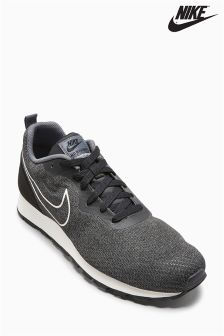Nike Black/Dark Grey MD Runner Engineered Mesh