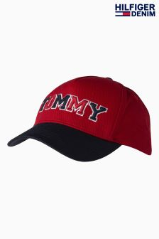 Tommy Hilfiger Red Fun Cap