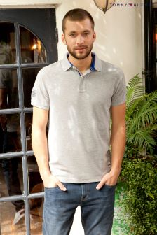 Tommy Hilfiger Grey Brody Polo Top