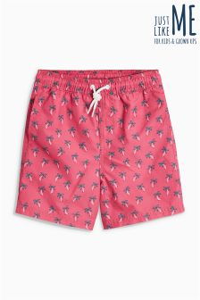 Palm Geo Print Swim Shorts (3mths-16yrs)