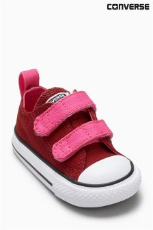 Converse Pink/Red Little Kids Chuck Taylor All Star 2V