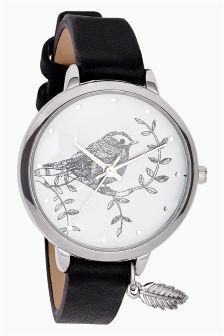 Woodland Creature Strap Watch