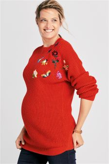 Maternity Knit Sweater
