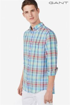 Gant Green Check Shirt