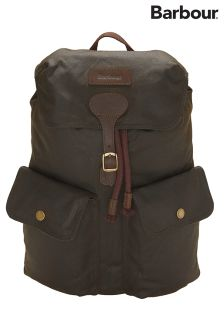 Barbour® Olive Linton Backpack