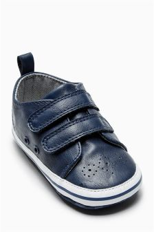 Pram Smart Two Strap Shoes (Younger Boys)