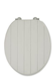 white wooden toilet seat. Groove Toilet Seat Seats  Soft Close Wooden Next UK