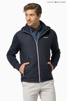 Tommy Hilfiger Navy Tom Quilted Hoody